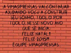CARTÃO DE NATAL 2014.